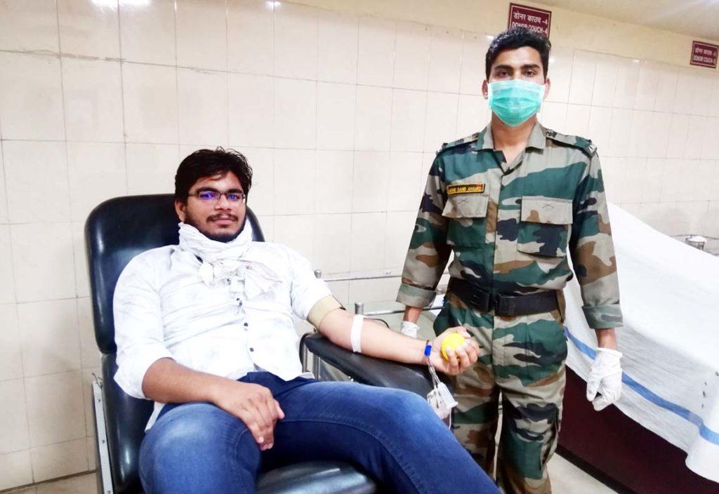 मां भारती रक्तवाहिनी खून की कमी नहीं होने देगी : गौतम