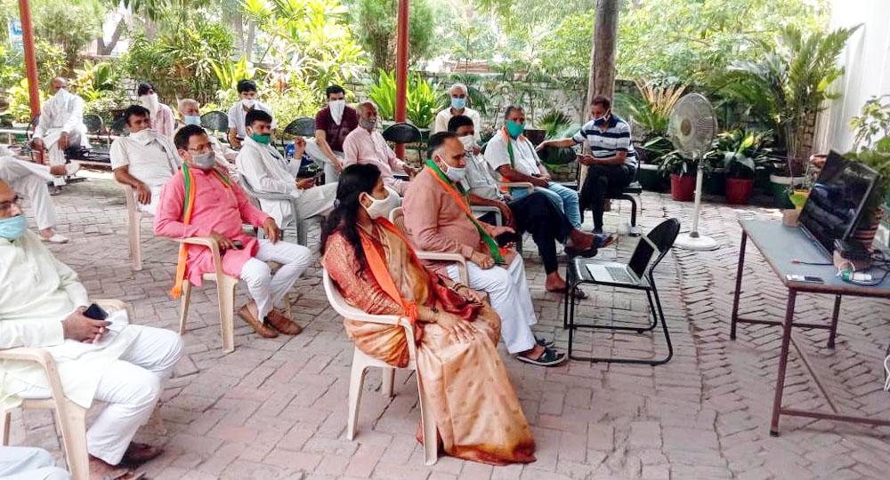 भाजपा ने लिया देश को आत्मनिर्भर बनाने का मजबूत संकल्प : जैन