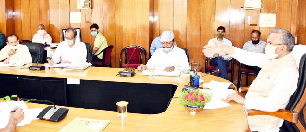 सीएम घोषणाओं को निर्धारित समयावधि में पूर्ण किया जाय : मुख्यमंत्री