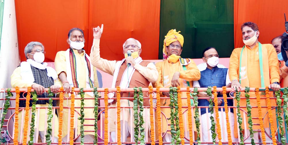 भाजपा में कार्यकर्ताओं को ही सरकार व संगठन में सौंपे जाते है महत्वपूर्ण दायित्व : मुख्यमंत्री लाल