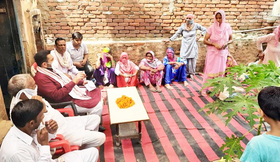 कालूपुर गांव में बिजली-पानी के हालात दयनीय : मदान