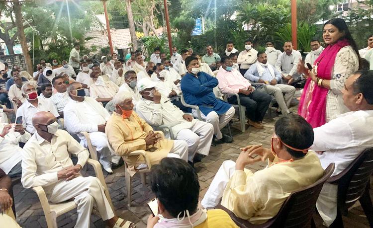 भाजपा के राष्ट्रीय अध्यक्ष नड्डा 19 को बहालगढ़ में करेंगे थैलों का वितरण : कविता जैन