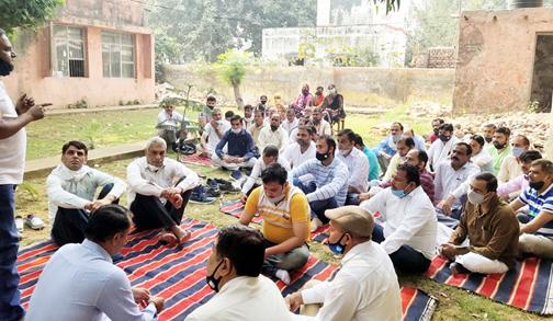 पेंशन अधिकार दिवस के लिए बिजली निगम का मिला समर्थन : प्रमोद ईष्टकान
