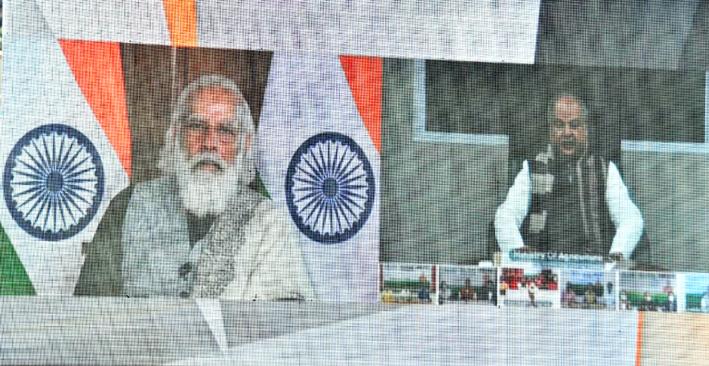 देश के किसानों की परेशानियों की ओर ध्यान दिया: पीएम मोदी