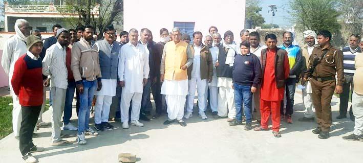 प्रधानमंत्री के वीजन हर घर में नल से जल को किया जा रहा पूरा : सांसद जांगड़ा