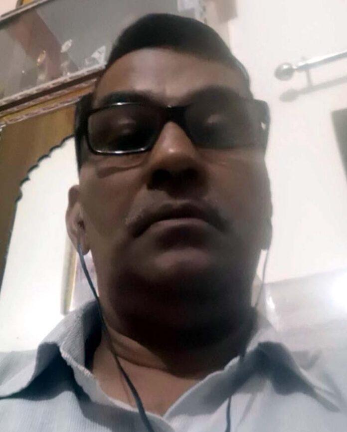 सोनीपत। मंच के राज्य सचिव कृष्ण वत्स।