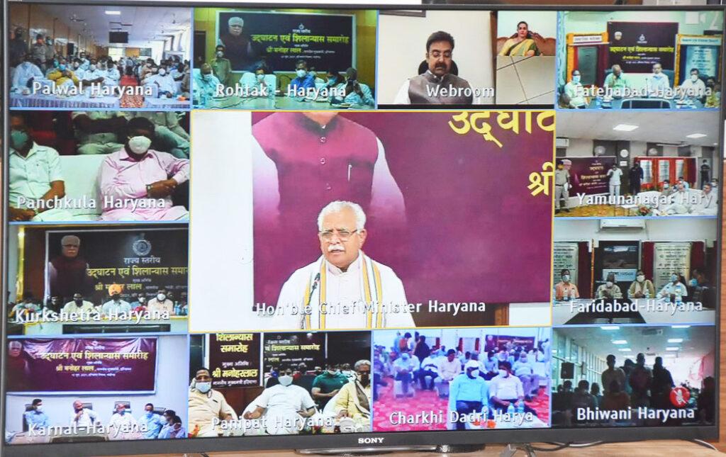 मुख्यमंत्री मनोहरलाल ने दी सोनीपत को विकास की नई सौगात