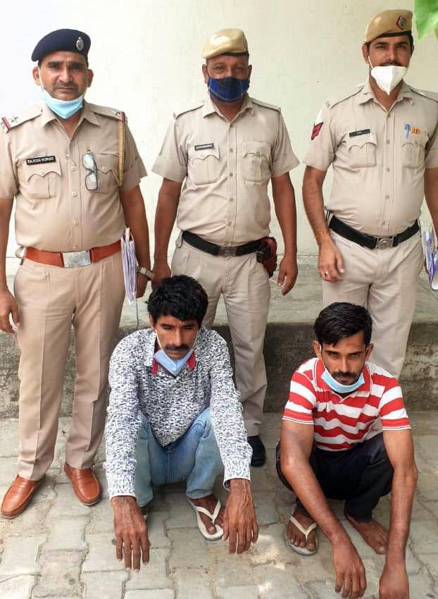 लूट की घटना में शामिल आरोपी को किया गिरफ्तार