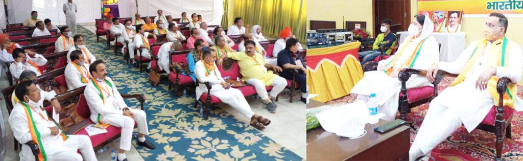 विश्व भर में चर्चा है भाजपा कार्यकर्ताओं के समर्पण की : ढांडा