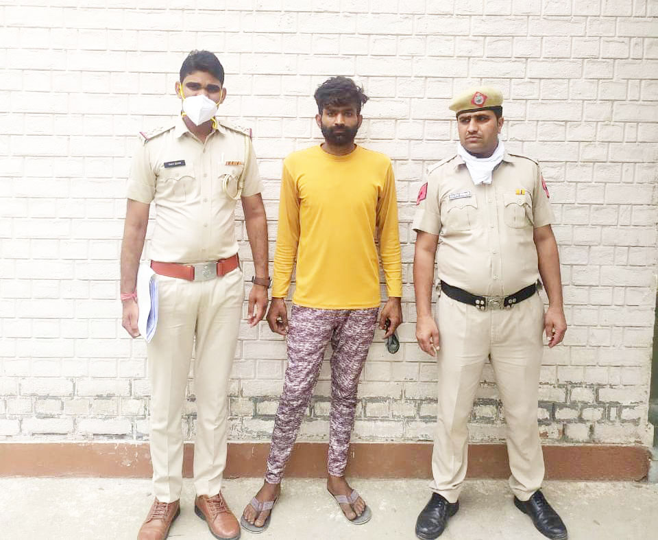 अवैध हथियार सहित शातिर बदमाश को भेजा जेल