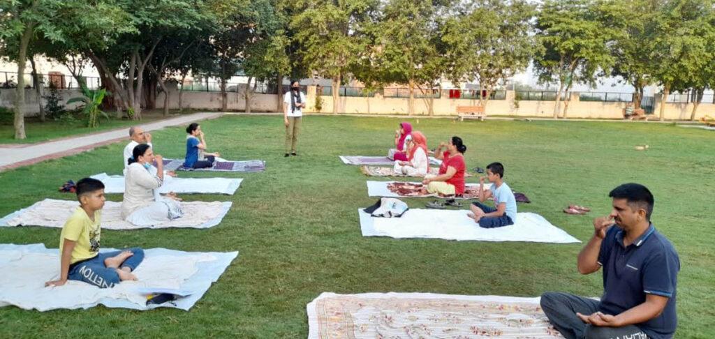 अंतर्राष्ट्रीय योग दिवस की तैयारियां जोरों पर, योगाभ्यास कार्यक्रम शुरू