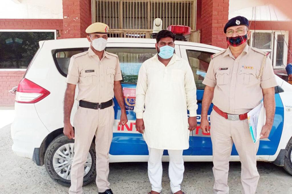 दिल्ली पुलिस में भर्ती करवाने के नाम पर धोखाधड़ी की घटना में शामिल आरोपी गिरफ्तार