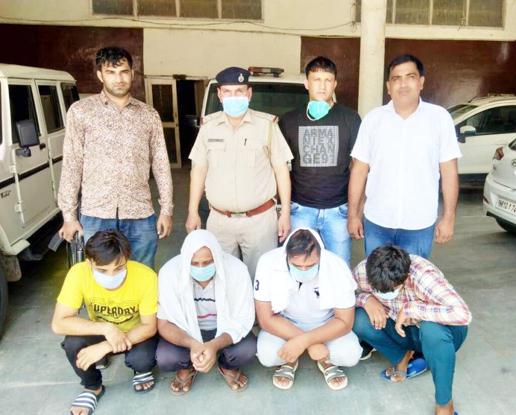 ट्राली चोरी गिरोह गिरफ्तार, दो और घटनाओं का किया खुलासा