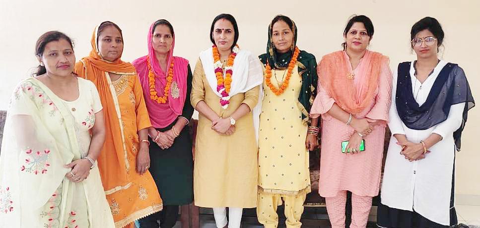 भाजपा महिला मोर्चा : विधानसभा प्रभारियों की घोषणा