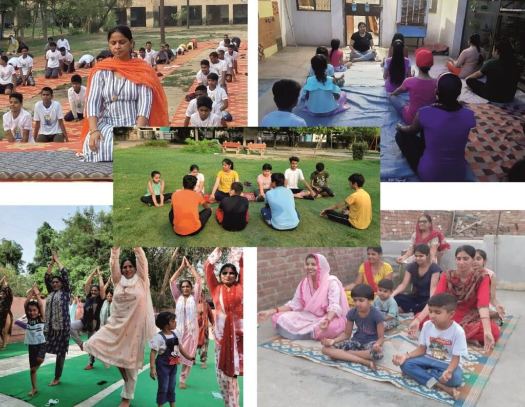 अंतरराष्ट्रीय योगा दिवस देश के बच्चों के नाम समर्पित : भाजपा महिला मोर्चा