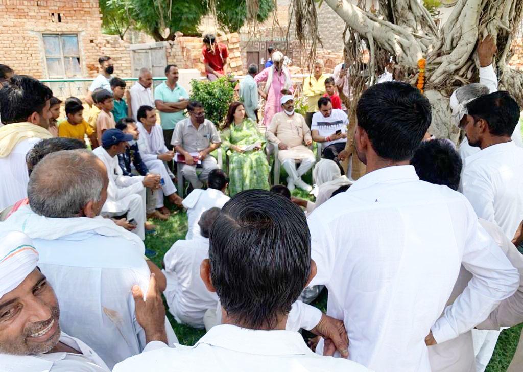 दुरूस्त होगी आदमपुर हलका की पेयजल व सीवरेज व्यवस्था : सोनाली फोगाट