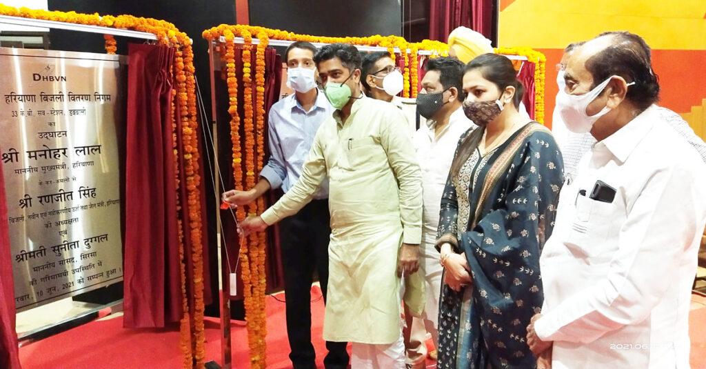 मुख्यमंत्री ने सिरसावासियों को दी 68 करोड़ की 8 विकास परियोजनाओं की सौगात