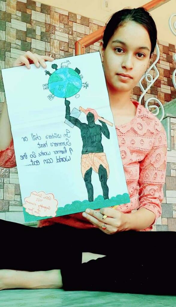 नारा लेखन में बहादुरगढ़ की गरिमा तो पोस्टर मेकिंग में कैथल के प्रिंस रहे अव्वल