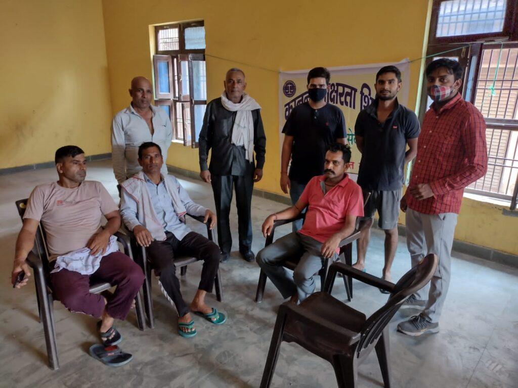 टेहा में किया गया कानूनी जागरूकता शिविर का आयोजन