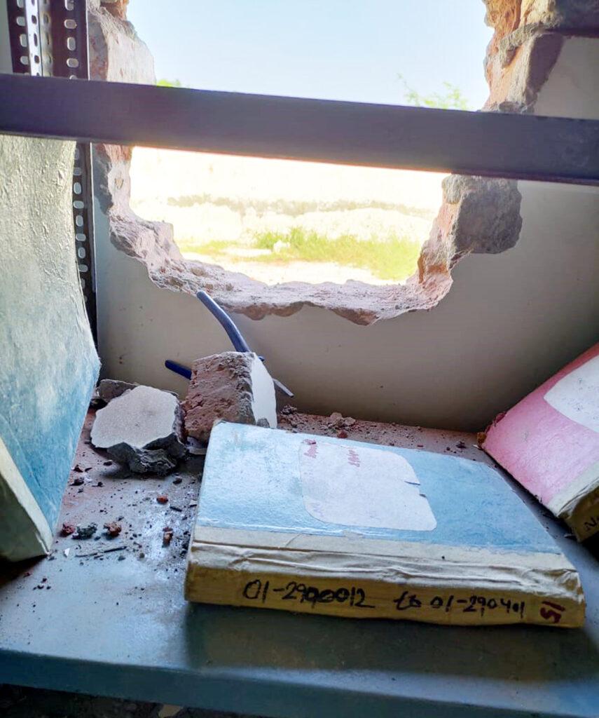 बैंक शाखा में सेंधमारी कर चोरों ने 2 लाख रुपए उड़ाए,मामला दर्ज